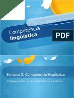 Semana2 Competencialingusticarev1 130125100659 Phpapp01