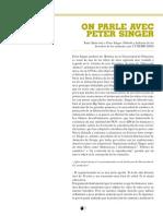 Entrevista a Peter Singer