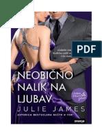 Neobično Nalik Na Ljubav - Julie James