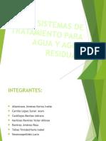 Sistemas de Tratamiento Para Agua y Agua Residual