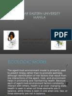Case Pres Eco Model -Ma'Am Medallo