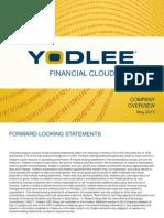 Ydle Investor Presentation 5-8-2015 Final