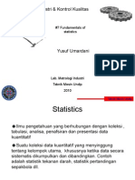 Fundamental of Statistics6+