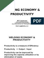 Welding Economy and Productivity