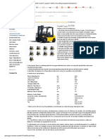 Forklift Truck 3T, Logistic Forklift, China Lifting Equipment Manufacturer