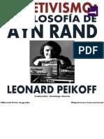 Objetivismo Filosofia Objetivismo Filosofia de Ayn Rand - Leonard Peikoffde Ayn Rand - Leonard Peikoff