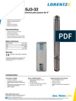 Manual Bomba Solar Lorentz PS4000 C-SJ3-32