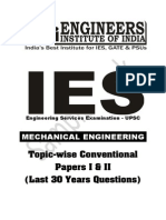 Me Topic Wise Conventionl Sample Book PDF for Ies Exam