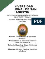 Informe de Fotogeologia