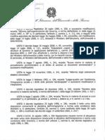 Decreto Ministeriale Test Ingresso 2015