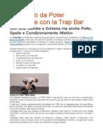7 Esercizi Da Poter Effettuare Con La Trap Bar