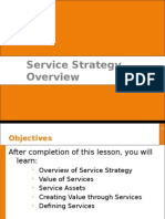 Chapter 2 & 3 - Service Strategy