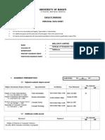 MELJUN CORTES Faculty Ranking Personal Data Sheet May 7 2015 Umak Ccs Updated 2015