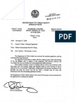 DEPARTMENT OF PUBLIC SAFETY LETTER TO PLANNING BOARD