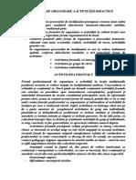 Forme de organizare a activitatii didactice
