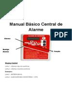 Manual Básico Central de Alarme