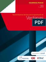 Recomendaciones Tecnicas Para La Especificacion de Ventanas_CORFO
