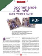 Radiocommande 400 MW