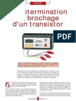 Indicateur de Brochage Pour Transistor