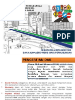 Perhubungan Paparan DAK untuk 29 Juni 2015.pptx
