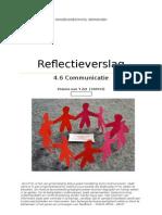 4 6 zelfreflectie  elianne communicatie