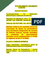 Abono Permanência - Desp. 2005 - Policial
