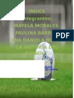 La Histroria Del Futbol A