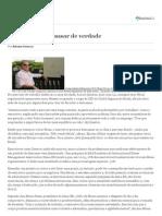 2012 - Jornal Valor - Férias Para Descansar de Verdade
