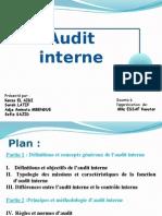 EXPOSE Audit Interne