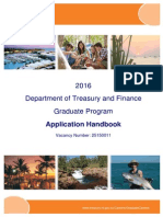 Graduate Application Handbook - 2016