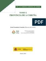 CARACTERIZACIÓN DE LAS COMARCAS AGRARIAS DE ESPAÑA TOMO 2 PROVINCIA DE A CORUÑA