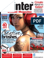 Corel Painter - 13 - Magazine, Art, Digital Painting, Drawing, Draw, 2d