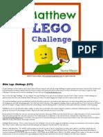 Matthew Lego Challenge KJV