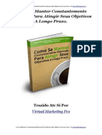 eBook Como Se Manter Motivado