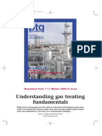 Gas Treating Fundamentals
