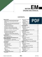 Engine Manual Nissan MR18