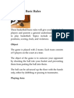 Basketball Basic Rules