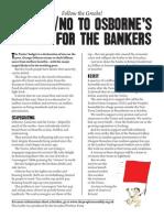 Follow the Greeks OXI to Osborne leaflet