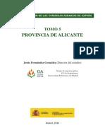 CARACTERIZACIÓN DE LAS COMARCAS AGRARIAS DE ESPAÑA TOMO 5 PROVINCIA DE ALICANTE Jesús Fernández González (Director del estudio