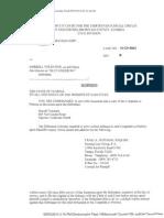 Seafarer Complaint