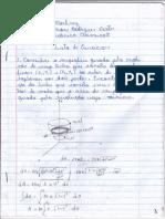Lista de Mecanica Classica II