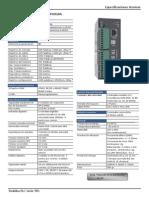 Especificaciones Tecnicas PLC Toshiba