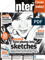 Corel Painter - 16 - Magazine, Art, Digital Painting, Drawing, Draw, 2d