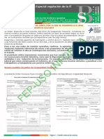 BOLETIN ESPECIAL SALUD LABORAL. NUEVA REGULACION IT.pdf