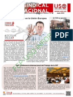 BOLETIN UNION SINDICAL INTERNACIONAL NUMERO 57 JUNIO 2015.pdf