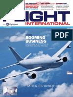 flight international 7- 13 july 2015 طارق الشويهدي