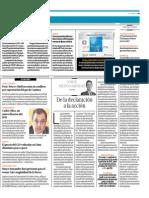 """""""De la declaración a la acción"""", por el Presidente de Proética, Jorge Medina"""