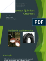 Processos Químicos Orgânicos