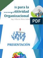 Claves Para La Competitividad Organizacional - Ing. Gilberto Mora Galaviz