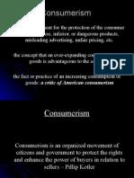 Chapter - Consumerism
